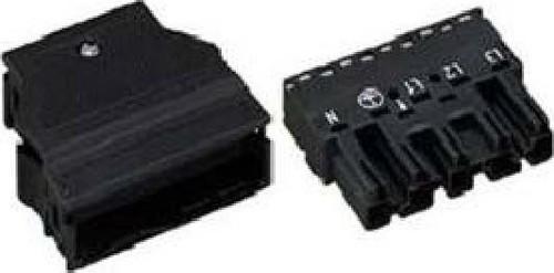 WAGO Kontakttechnik Stecker 2x0,5-4mmq weiß 770-135