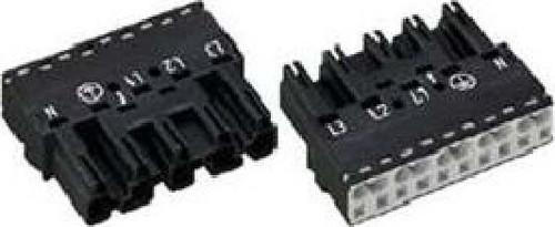 WAGO Kontakttechnik Stecker 2x0,5-4mmq weiß 770-235