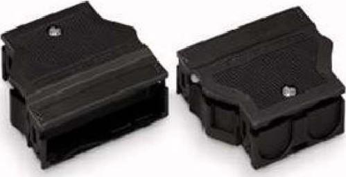 WAGO Kontakttechnik Zugentlastungsgehäuse 9-13mm,5pol. schwarz 770-505