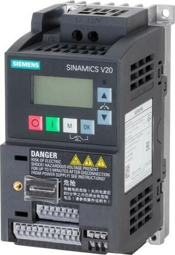 Siemens Indus.Sector Umrichter SINAMICS 0,37kW m.Filter 6SL3210-5BB13-7BV1