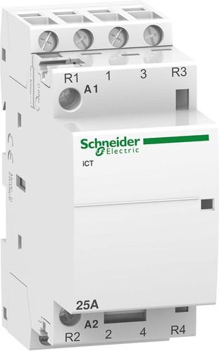 Schneider Electric Installationsschütz 2S+2Ö 25A 220-240VAC A9C20838