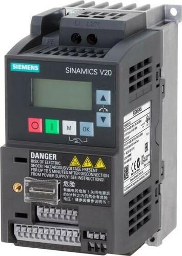 Siemens Indus.Sector Umrichter SINAMICS 0,55kW m.Filter 6SL3210-5BB15-5BV1