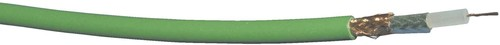 bda connectivity Videokoaxialkabel 75 Ohm 0,6/3,7-FRNC gn T500