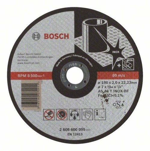 Bosch Power Tools Trennscheibe 180x2 2608600095