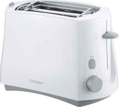 Cloer Toaster 2 Scheiben 331 weiß