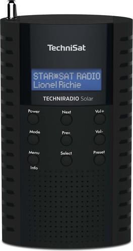 TechniSat DAB+ Digitalradio UKW/IPX5/Solarpanel TECHNIRADIOSolar sw