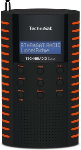 TechniSat DAB+ Digitalradio UKW/IPX5/Solarpanel TECHNIRADIOSolarsw/o