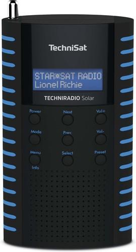 TechniSat DAB+ Digitalradio UKW/IPX5/Solarpanel TECHNIRADIOSolarsw/b