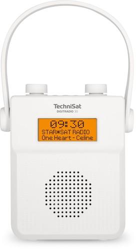 TechniSat DAB+ Digitalradio UKW/BT/Akku DIGITRADIO30 weiß