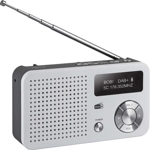IMPERIAL Digitalradio mobil DAB+,DAB,UKW DABMAN13 weiß/si