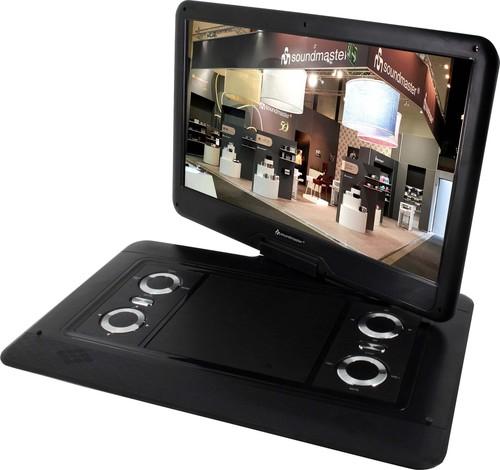 Wörlein GmbH DVD-Player tragbar 15,6Zoll,39,6cm PDB1550SW sw
