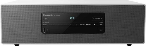 Panasonic Deutsch.CE Micro-HiFi-System DAB+,BT,CD SCDM504EGW weiß