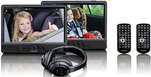 LENCO DVD-Player Set portable DVP-1047 Black