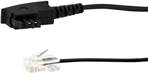E+P Elektrik DSL-Anschlusskabel 3m TAE-F/RJ45 Stecker T180/3