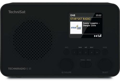 TechniSat DAB+ Digitalradio TECHNIRADIO6IR sw