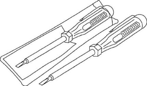 HKL Spannungsprüfer in Klarsichttasche 1150