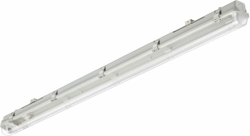 Philips Lighting Feuchtraumleuchte f. 1x LED-Tube WT050C 1xTLED L1200