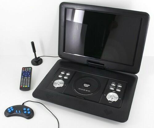 Wörlein GmbH DVD-Player tragbar PDB1600SW sw