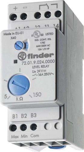 Finder Niveau-Überwachungsrelais 1W,16A,Spsp.230VAC 72.01.8.240.0000