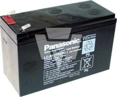 Hückmann Panasonic Blei-Akku LC-R127R2PG1 12V/7,2 110806