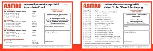 BIO Brandschutz Kennzeichnungsschild universal 14000