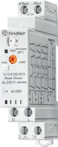 Finder Dimmer elektronisch 230VAC, Master 15.10.8.230.0010