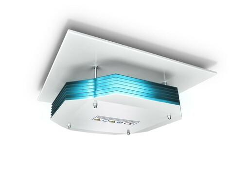 Philips Lighting UV-C Deckenleuchte M600 zur Luftdesinfektion SM345C 4xTUVPLS9WHFM
