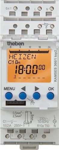 Theben Uhrenthermostat digital RAMSES 366/1 TOP2