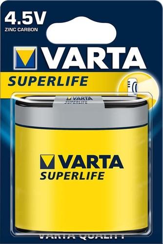 Varta Cons.Varta Batterie Superlife 4,5V Normal/3R12,Zink-K. 2012 Bli.1