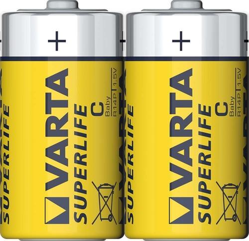 Varta Cons.Varta Batterie Superlife C Baby,R14,Zink-Karbon 2014 Fol.2