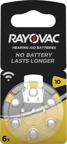 Varta Cons.Varta Hörgerätebatterie PR70 Rayovac 10 Bli.6