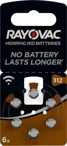 Varta Cons.Varta Hörgerätebatterie PR41 Rayovac 312 Bli.6