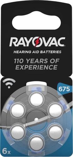 Varta Cons.Varta Hörgerätebatterie PR44 Rayovac 675 Bli.6