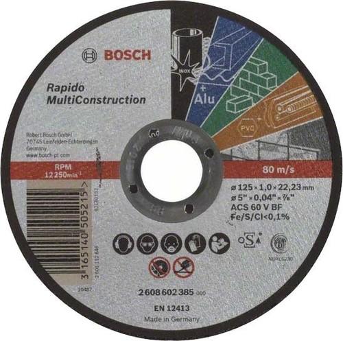 Bosch Power Tools Trennscheibe Rapido MC125x1,0mm 2608602385
