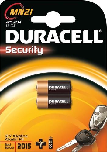 Duracell Security-Alkaline-Batterie 12V MN21 (Bli.2)