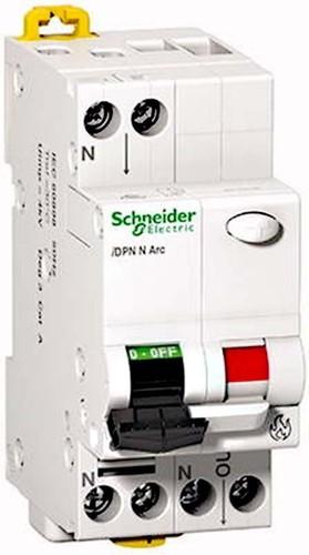 Schneider Electric Brandschutzschalter AFDD 1P+N 10A B A9FDB7610