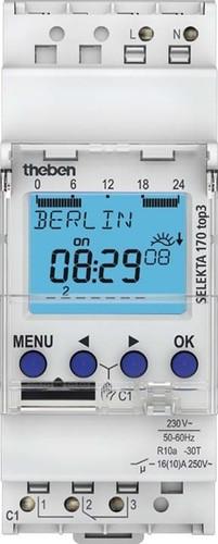 Theben Digitale Zeitschaltuhr 1 Kanäle SELEKTA 170 top3