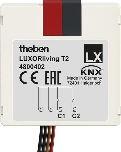 Theben Smart Home-System 2 Kanäle LUXORliving T2