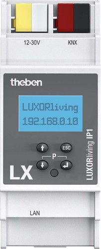 Theben Smart Home-System Systemzentrale LUXORliving IP1