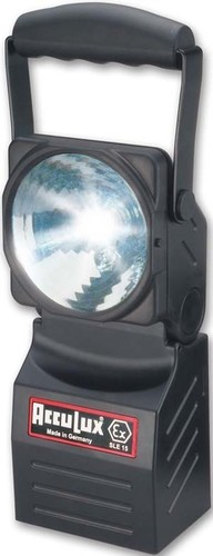 AccuLux EX SLE 15 Leuchte schwarz 230V 12-24V 457830