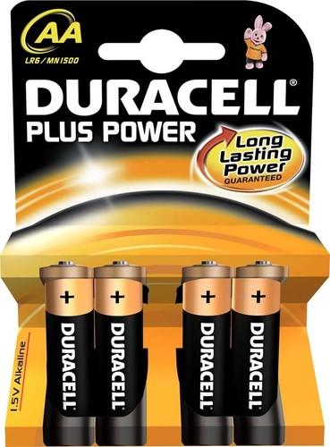 Duracell Alkaline-Batterie 1,5V (MN1500/LR6) PlusPower-AA (K.4)