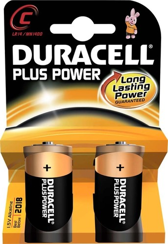 Duracell Alkaline-Batterie 1,5V (MN1400/LR14) PlusPower-C (K.2)
