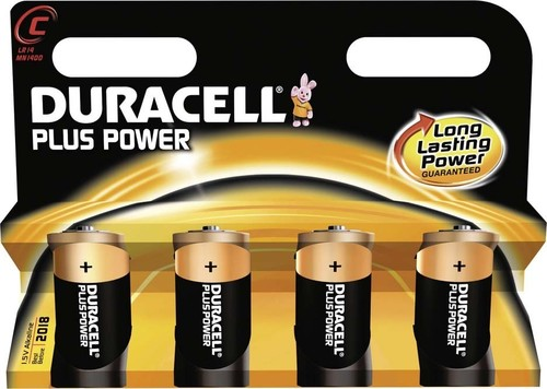 Duracell Alkaline-Batterie 1,5V (MN1400/LR14) PlusPower-C (K.4)