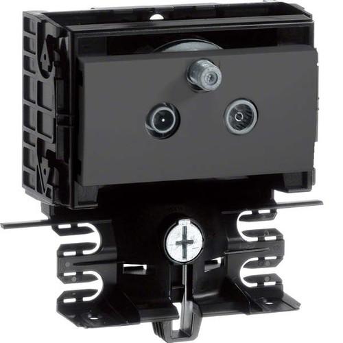 Tehalit SAT Stichleitungsdose schwarz SL20055950 sw