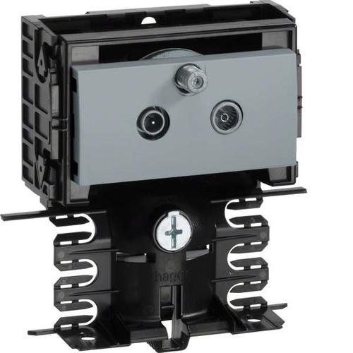 Tehalit SAT Stichleitungsdose aluminum SL20080950 alu