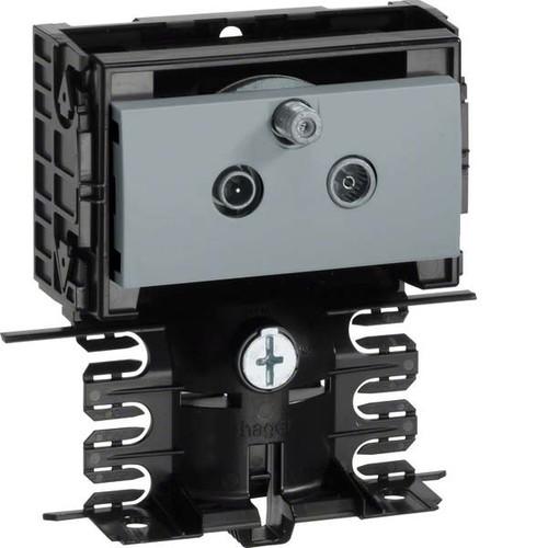 Tehalit DATA Stichleitungsdose aluminum SL20080990 alu