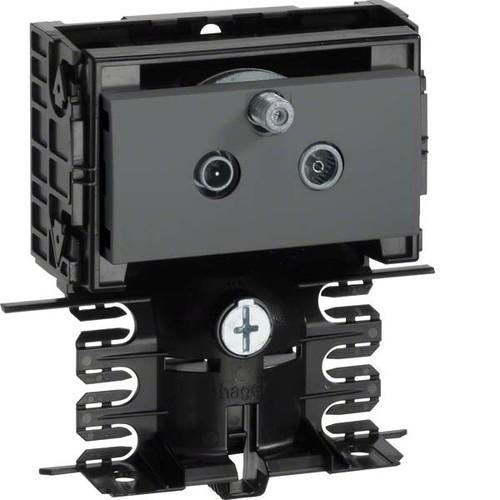 Tehalit DATA Stichleitungsdose schwarz SL20080990 sw