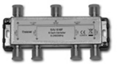 Televes Verteiler 6f. 14dB, 5-2400Mhz SAV 616 F