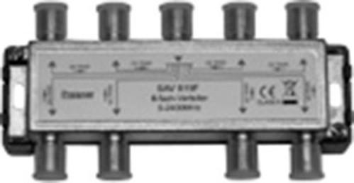 Televes Verteiler 8f. 16dB, 5-2400Mhz SAV 819 F