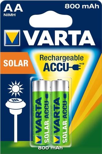Varta Cons.Varta Recharge Accu Solar AA 1,2V/800mAh/NiMH 56736 Bli.2
